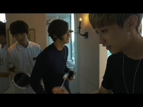 B1A4 'Road Trip - Ready?' Behind Clip #1
