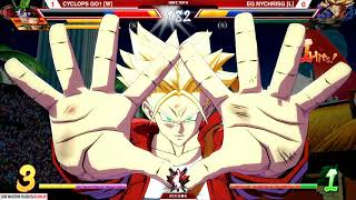 CYCLOPS GO1 vs NYChrisG Dragon Ball FighterZ GRAND FINALS @ Canada Cup Master Series 2018