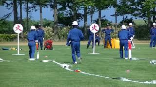 2018年6月24日八雲町消防総合訓練大会東分団ポンプ車操法