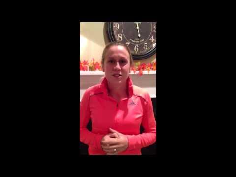 Heather Reilly Congratulates Northeastern Huskies Women