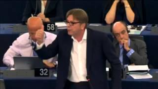 Guy Verhofstadt plenary speech on Greece with Alexis Tsipras 8-7-2015