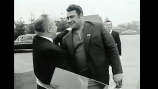 Василий Алексеев в гостях у Сержа Рединга (1971). Vasily Alexeev at Serge Reding`s (1971).