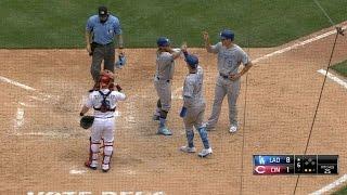 6/18/17: Maeda, Turner lead Dodgers past Reds, 8-7