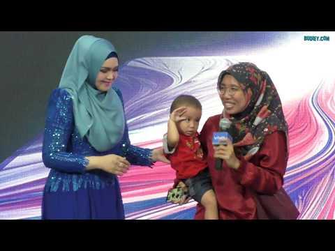 Sitizoner Lawan Nyanyi Lagu Siti Nurhaliza di Pelancaran vivo V15 Pro