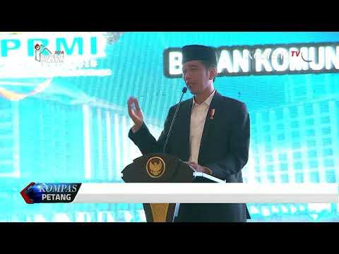 Presiden Jokowi Ajak Pemuda Islam Jauhi Fitnah