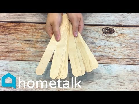 Popsicle Stick DIY's | Grownup ways to make gorgeous home decor with popsicle sticks! | Hometalk