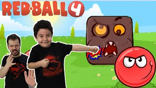 Yusuf Red Ball 4 Boss a Karşı!!