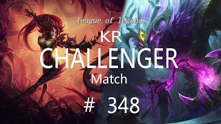 Korea Challenger Match # 348/L…