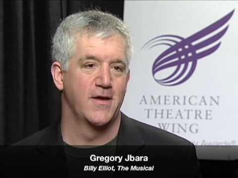 Talkin Tonys  Gregory Jbara Billy Elliot, The Musical