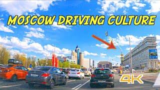 DRIVING IN MOSCOW 4K 2021 вождение однажды в россии