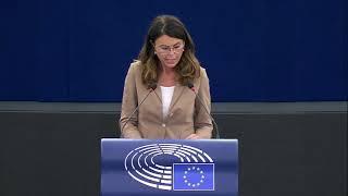 Intervento di Simona Bonafè, europarlamentare del partito democratico, durante la Plenaria di Strasburgo inerente la presentazione del programma di attività della presidenza slovena