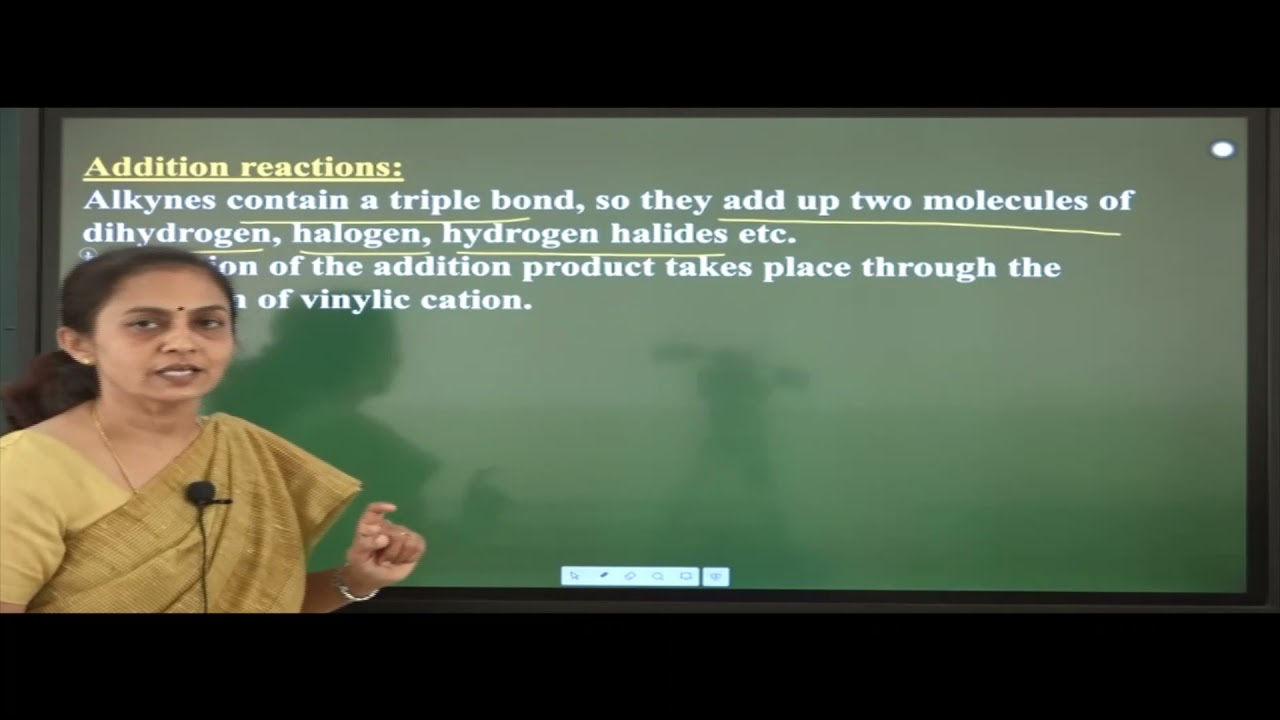 I PUC   Chemistry   Hydrocarbons- 07