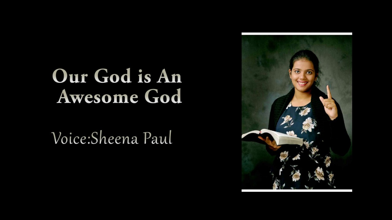 Awesome God [with lyrics] song by Sheena Paul