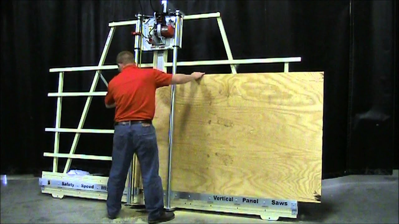 How To Properly Operate A Vertical Panel Saw Youtube