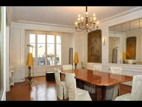 A vendre appartement paris 16 victor hugo prestige 4 chambres youtube - Appartement 4 chambres paris ...