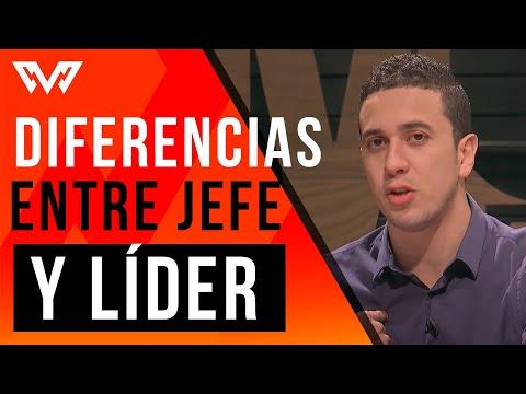 Diferencias y Caracteristicas Del Jefe Y Del Lider - NCN Masculino