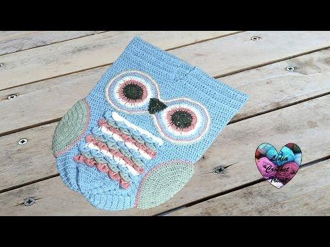 Cocoon Hiboux Crochet 2/2 / Cocoon Owl Crochet 2/2 (english Subtitles)