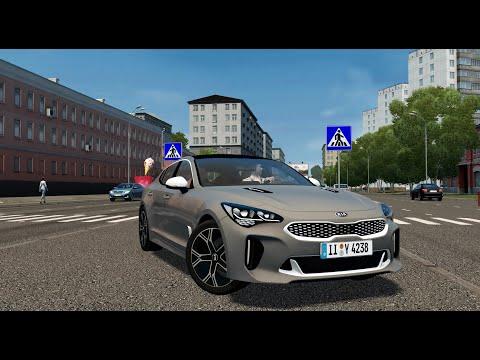 City Car Driving - Kia Stinger GT - Fast Driving - 4K 60 FPS
