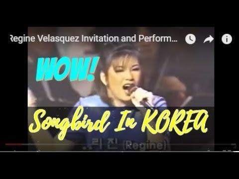 Regine Velasquez In KOREA (Televised via KBS Channel)
