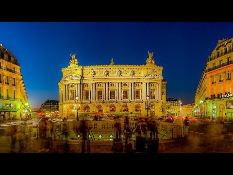 A Walk Around Place de l'Opera, Paris