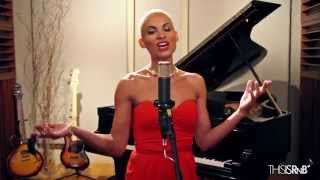 "Goapele Performs ""At Last"" Acappella on ThisisRnB Sessions"
