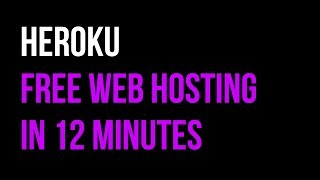 Heroku Free Web Hosting + Back-End Tutorial in 12 Minutes |  Node.js + Express | Quick Code