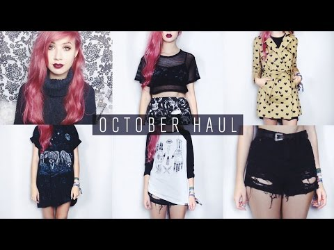 October Haul | Missguided, Primark, Dr Martens, Cheer Up etc.