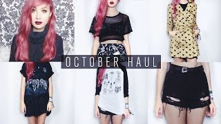 October Haul | Missguided, Primark, Dr Martens, Cheer Up etc. Thumbnail