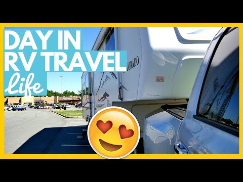 DAY IN THE RV LIFE WORK & TRAVEL DAY 🚌 Enroute to Williamsburg, VA Full Time RV Living