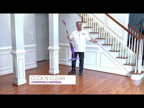 How To Clean Hardwood Floors - Click n Clean Rejuvenate Professional Hardwood Floor Cleaner
