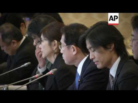 Japanese and Russian ministers meet in Tokyo