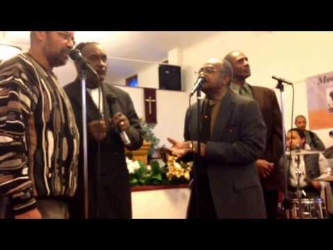 Old school quartet Gospel now let us sing