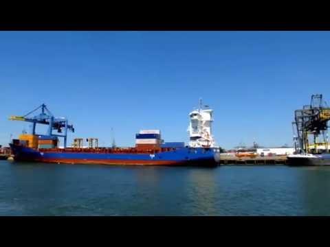 Holland - Rotterdam Rejs statkiem po porcie - Rotterdam cruise on the harbor