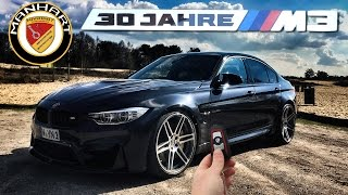 BMW M3 30 Jahre Edition Manhart 550 REVIEW POV Test Drive by AutoTopNL