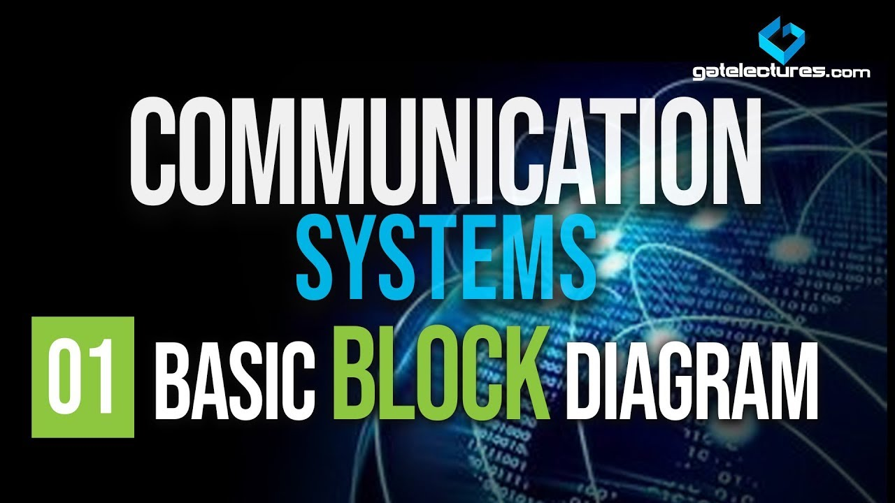 Communication systems 01 basic block diagram youtube communication systems 01 basic block diagram ccuart Gallery