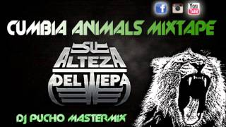 CUMBIA ANIMALS MIXTAPE  - EDIT DJ PUCHO MASTERMIX - kumbias con wepa
