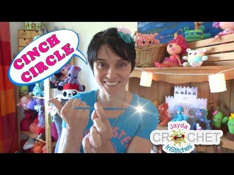 Learn to Crochet: The Basics – CINCH CIRCLE or MAGIC CIRCLE