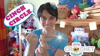 Learn to Crochet: The Basics - CINCH CIRCLE or MAGIC CIRCLE