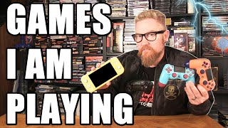GAMES I AM PLAYING - Happy Console Gamer