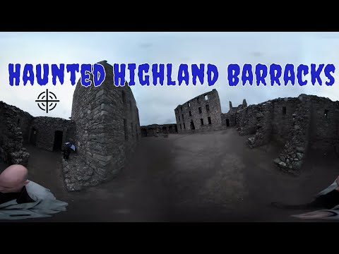 🌐 360 Tour of Haunted Historical Barracks In Scotland | Interactive Video