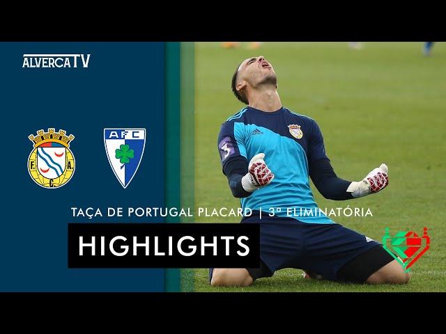 FC Alverca 4-1 Anadia FC | Highlights