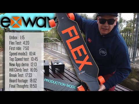 Production EXWAY FLEX Comprehensive First Ride. (Timestamps In Description)