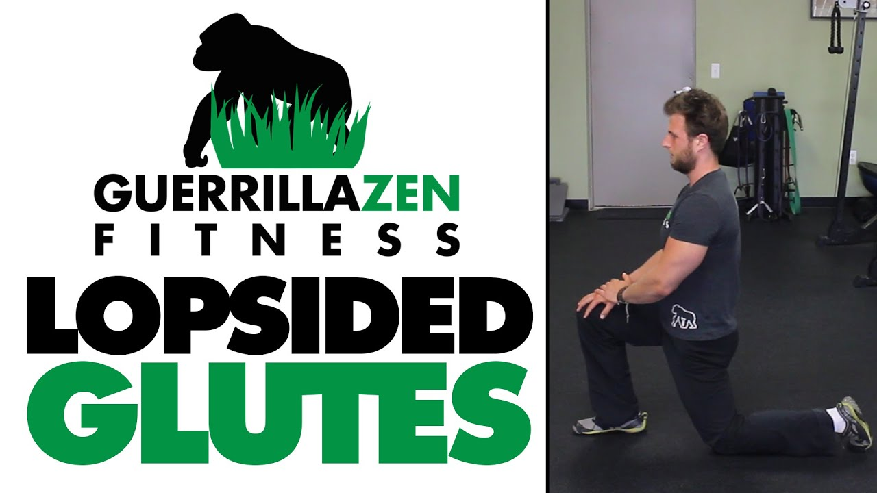How To FIX Lopsided Glutes | Asymmetrical Imbalance