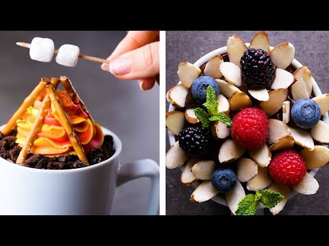 These 5 Minute Mug Cake Creations are Perfect for the Whole Family!  | Amazing Desserts by So Yummy