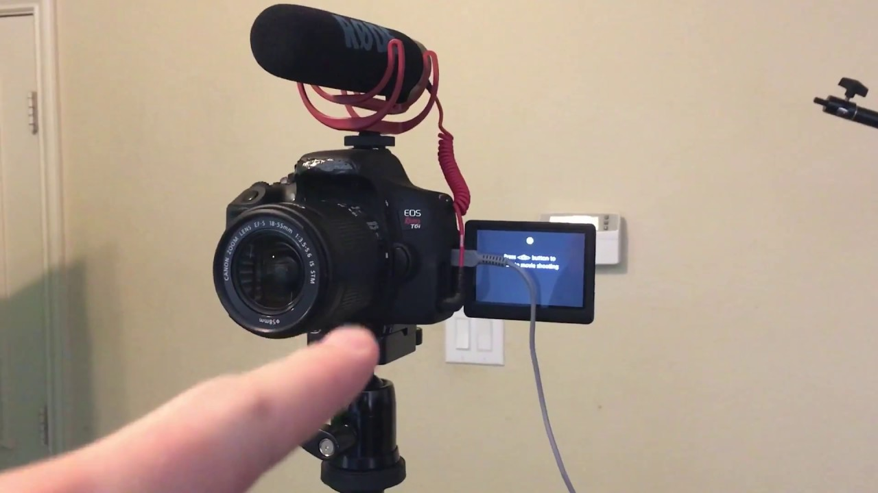 How To Use A Macbook As A Monitor For Your Canon Dslr Youtube