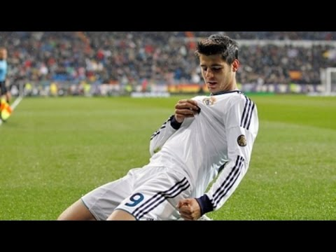 Alvaro Morata First Goal - Real Madrid 2016