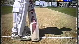 Brief Cricket Footage   NZ vs India 1st Test 2002