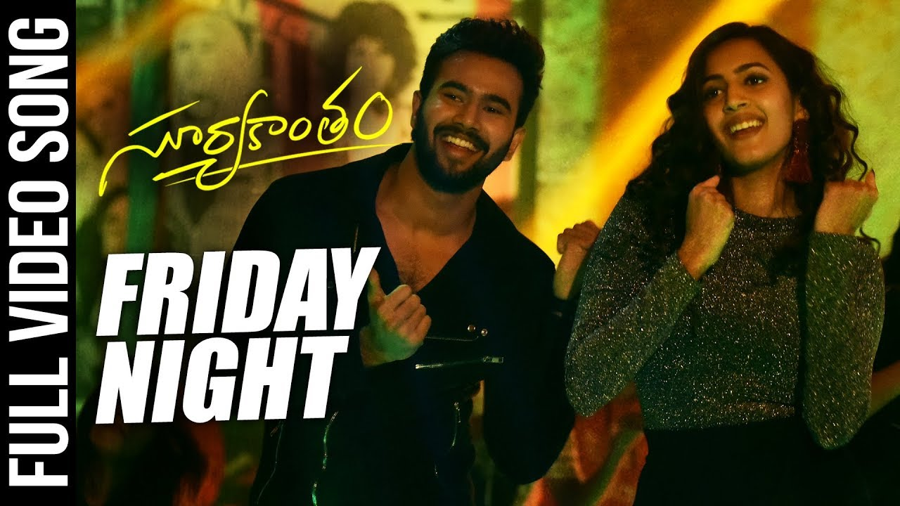 Friday Anthem Full Video Song - Suryakantam | Niharika Konidela, Rahul Vijay, Perlene | Roll Rida