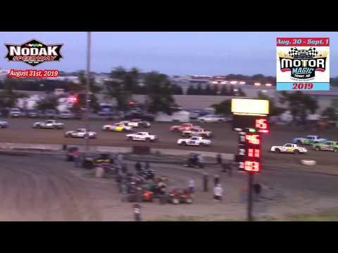 Nodak Speedway IMCA Hobby Stock B-Main Qualifiers (Motor Magic Night #2) (8/31/19)