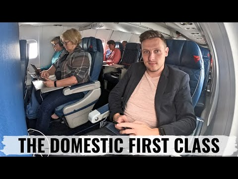 Review: Delta Air Lines CRJ900 First Class and Comfort